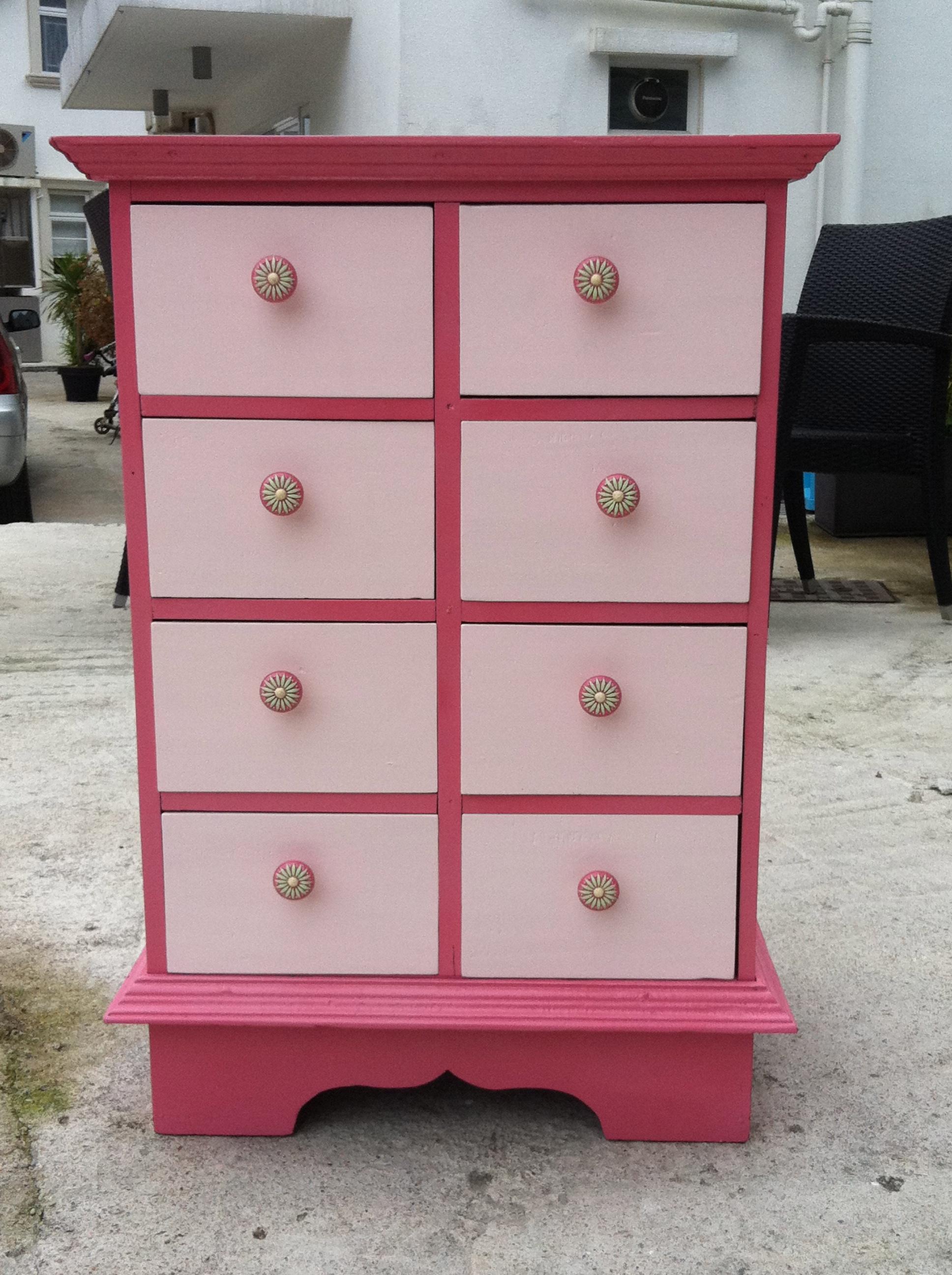 Baby's room cabinet | love4vintage